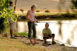 Tuki Trout Farm Family Fishing Getaway