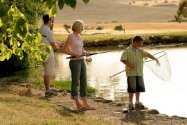 Tuki Trout Farm Family Fishing